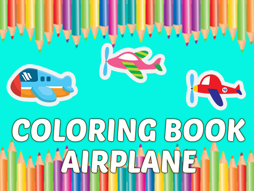 Coloring Book Airplane thumbnail