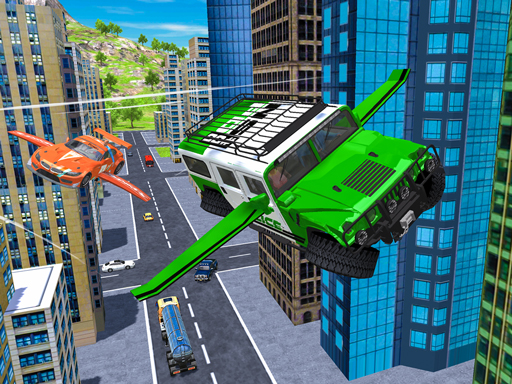 Flying Car Extreme Simulator thumbnail
