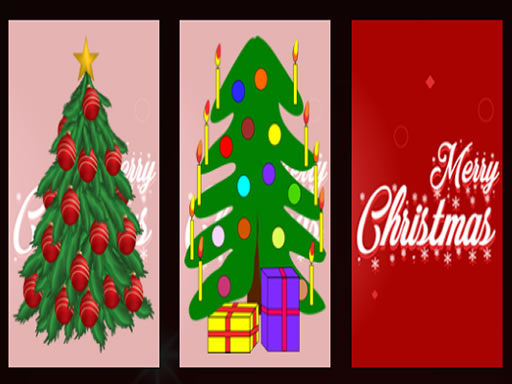 Christmas Tree Memory Game thumbnail