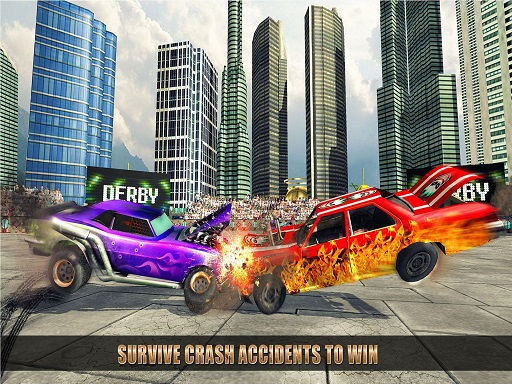 Extreme Car Battle Demolition Derby Car 2k20 thumbnail