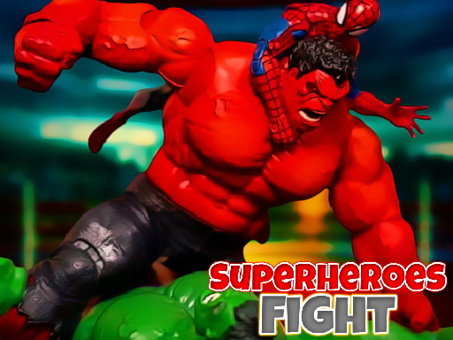 Superheroes Fight thumbnail