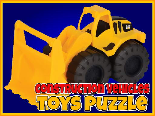 Construction Vehicles Toys Puzzle thumbnail