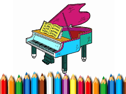 BTS Piano Coloring Book thumbnail