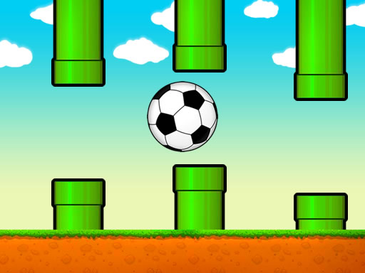 Thumbnail of Flappy Soccer Ball