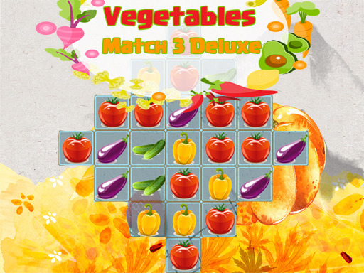 Thumbnail for Vegetables Match 3 Deluxe