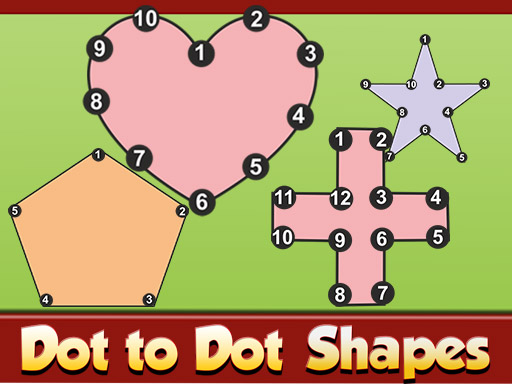 Dot to Dot Shapes Kids Education thumbnail