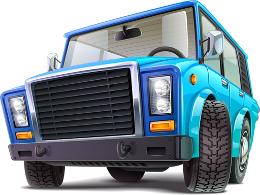 Thumbnail of Cartoon Trucks Puzzle
