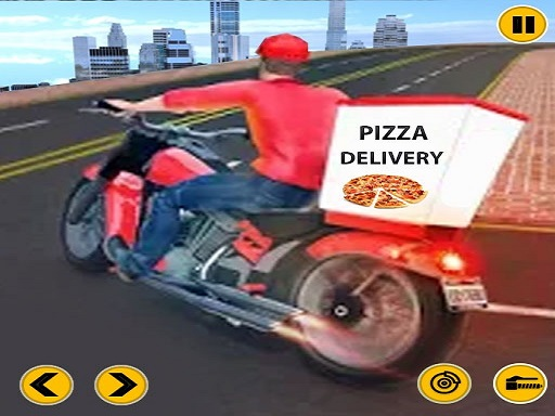 Thumbnail of Big Pizza Delivery Boy Simulator Game