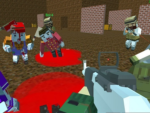 Thumbnail of Blocky Warfare the Aweper Zombie
