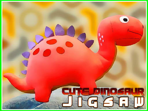 Thumbnail for Cute Dinosaur Jigsaw