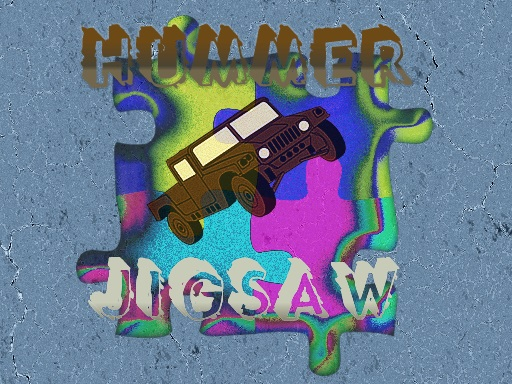 Thumbnail of Hummer Trucks Jigsaw