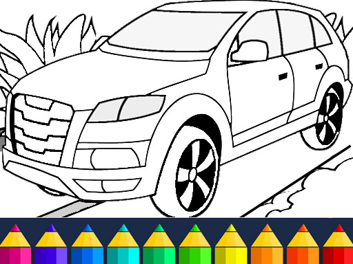 Thumbnail for Cars Coloring Game