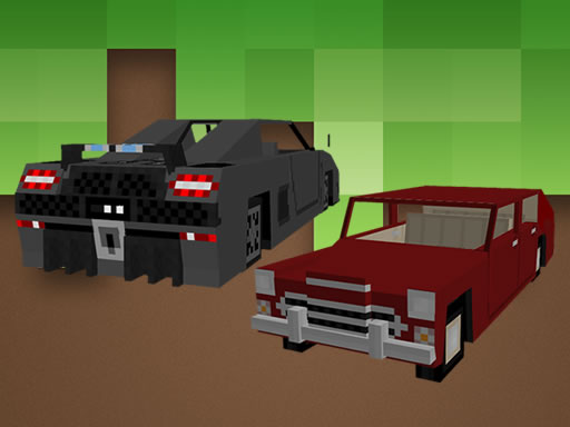 Blockcraft Cars Jigsaw thumbnail
