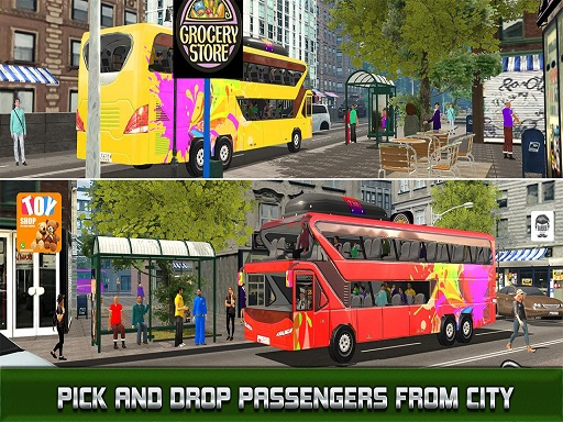 Modern City Bus Driving Simulator New Games 2020 thumbnail