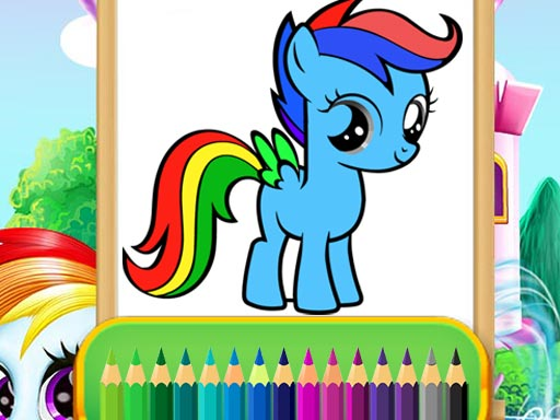 Wonder Pony Coloring thumbnail