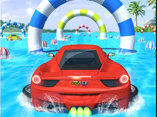 Water Car Stunt Racing thumbnail