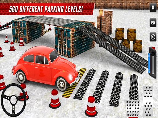 SUV Classic Car Parking Real Driving thumbnail