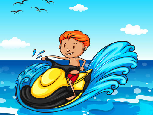 Thumbnail of Jet Ski Summer Fun Hidden