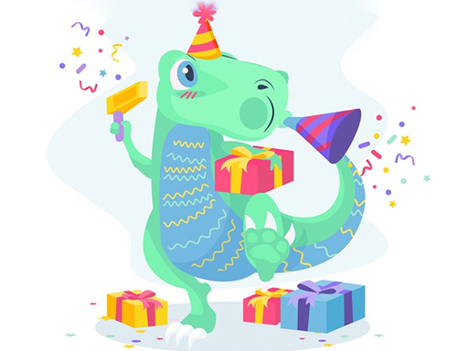 Dino Party Jigsaw thumbnail