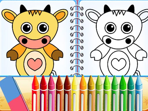 Lovely Pets Coloring Pages thumbnail