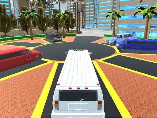 Luxury Limo Taxi Driver City Game thumbnail