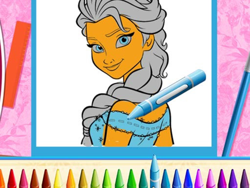The Princess Sisters Coloring thumbnail