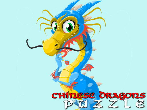 Chinese Dragons Puzzle thumbnail