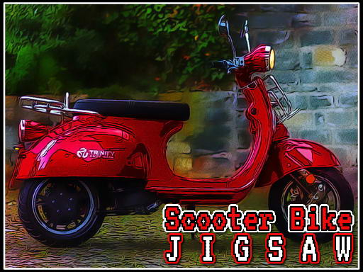Scooter Bike Jigsaw thumbnail