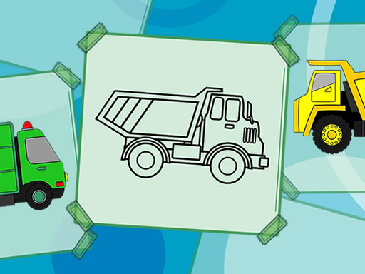Truck Coloring Book thumbnail