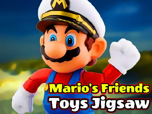Mario's Friends Toys Jigsaw thumbnail
