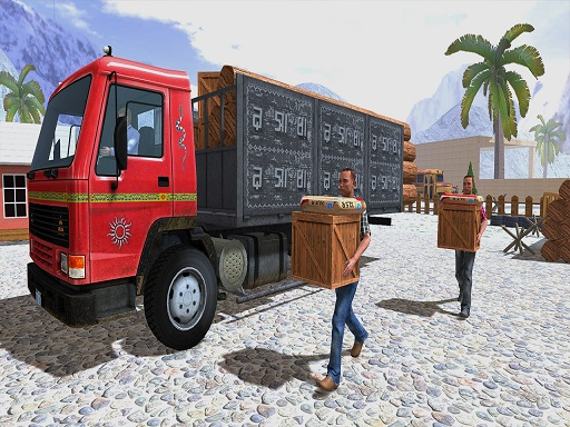 Thumbnail of Asian Offroad Cargo Truck Driver Game