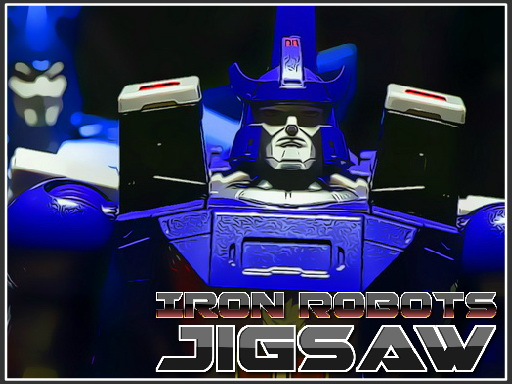 Thumbnail of Iron Robots Jigsaw