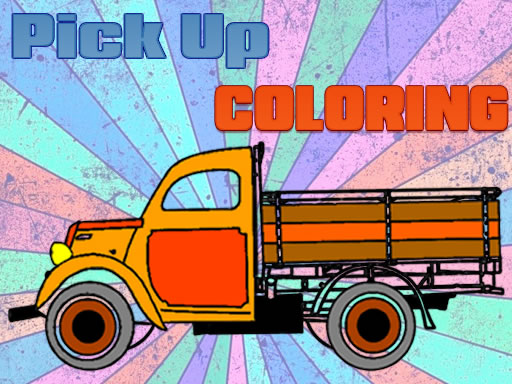 Pick Up Trucks Coloring thumbnail