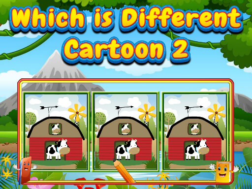 Which Is Different Cartoon 2 thumbnail