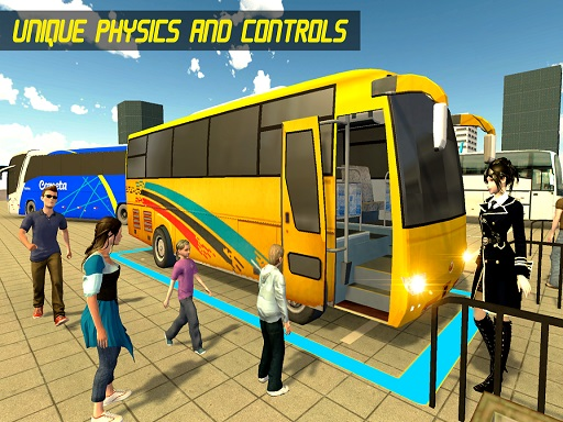 Modern Bus Parking Advance Bus Games thumbnail