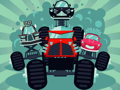 Thumbnail of Crazy Monster Trucks Memory