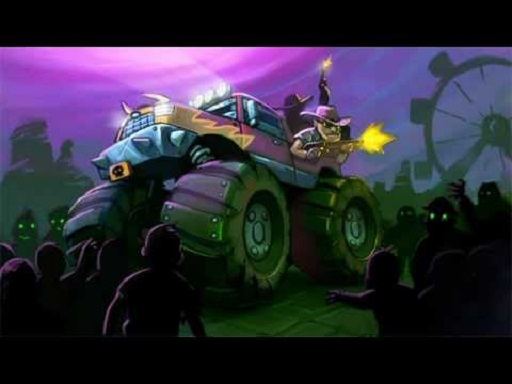 Thumbnail of Zombie Smash : Monster Truck Racing Game