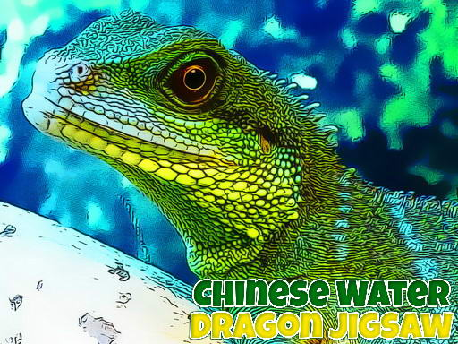 Chinese Water Dragon Jigsaw thumbnail