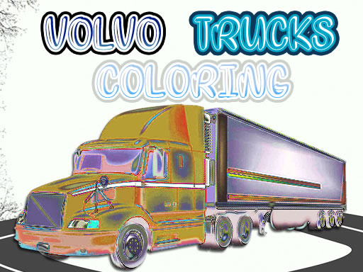 Volvo Trucks Coloring thumbnail