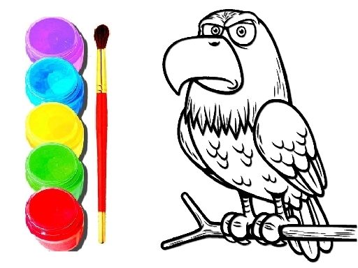 Eagle Coloring Book thumbnail