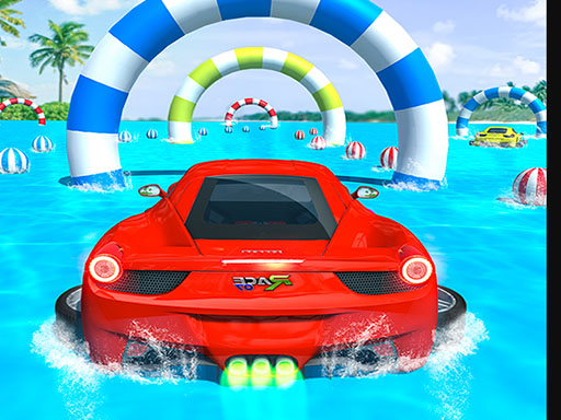 Water Surfing Car Stunts Car Racing Game thumbnail
