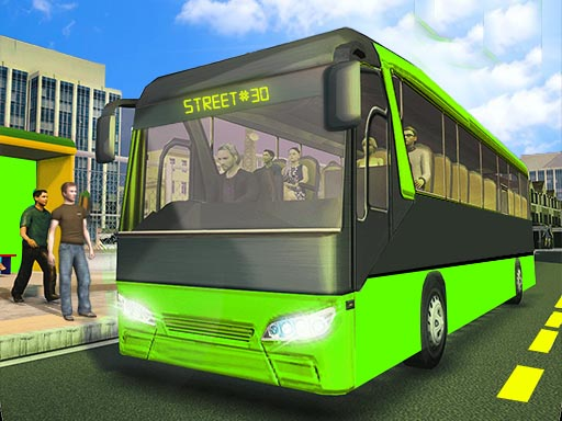 City Passenger Coach Bus Simulator Bus Driving 3D thumbnail