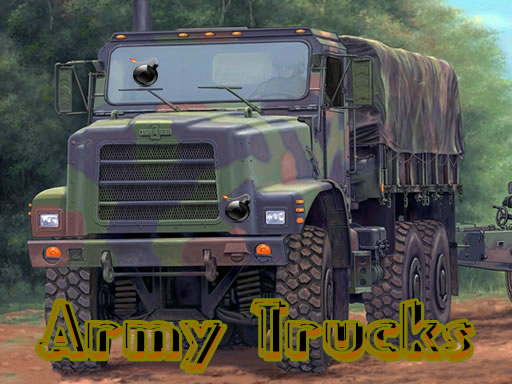 Army Trucks Hidden Objects thumbnail