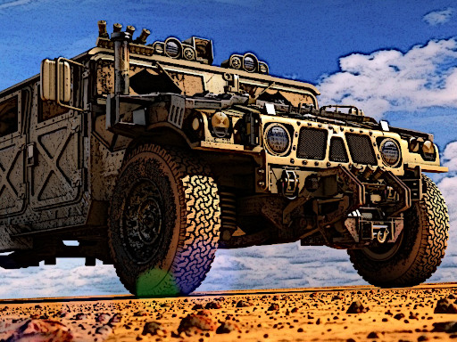 Thumbnail of Military Transport Vehicle