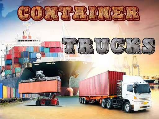 Container Trucks Jigsaw thumbnail