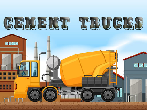 Thumbnail of Cement Trucks Hidden Objects