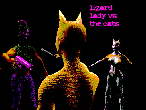 Lizard Lady vs The Cats thumbnail