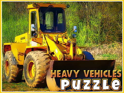 Heavy Vehicles Puzzle thumbnail