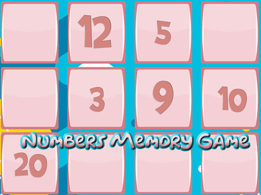 Thumbnail of Memory Game With Numbers