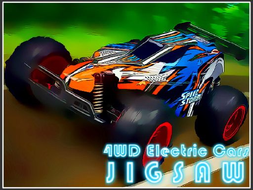 Thumbnail of 4WD Electric Cars Jigsaw